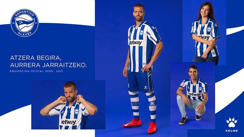 домашняя форма Deportivo Alavеs Kelme