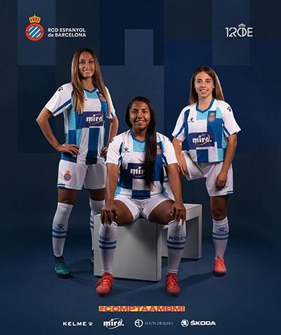 Выездная форма Espanyol Kelme